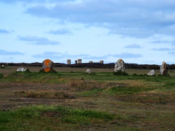 Camaret : le manoir de Coecilian et les alignements de Lagatjar