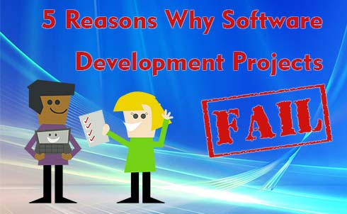 5 Reasons Why Software Development Projects Fail