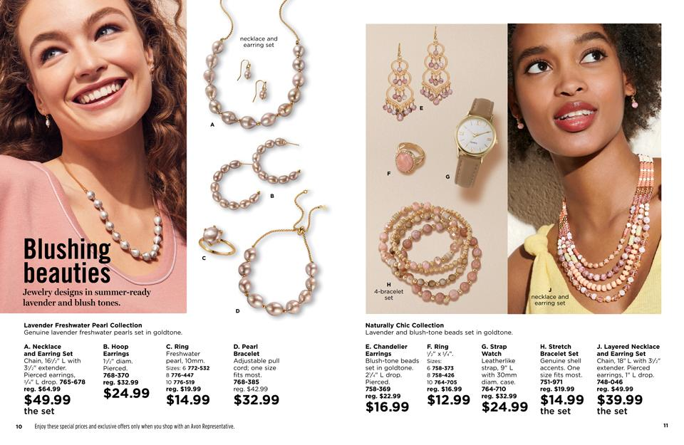 Blushing Beauty - AVON Jewelry