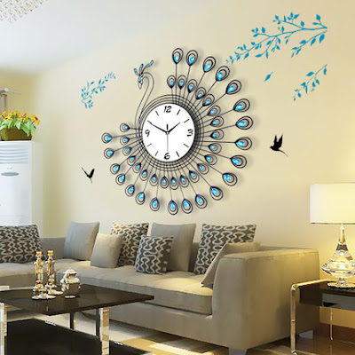 large wall clocks for living room handmade wall clock design ideas dwell of decor 25906