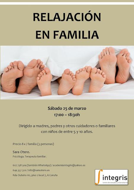 Taller de Relajación en Familia