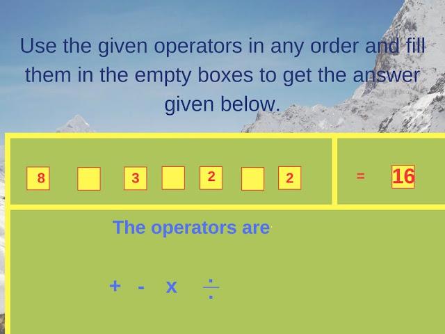 Math Operator Equation Brain Teaser-4
