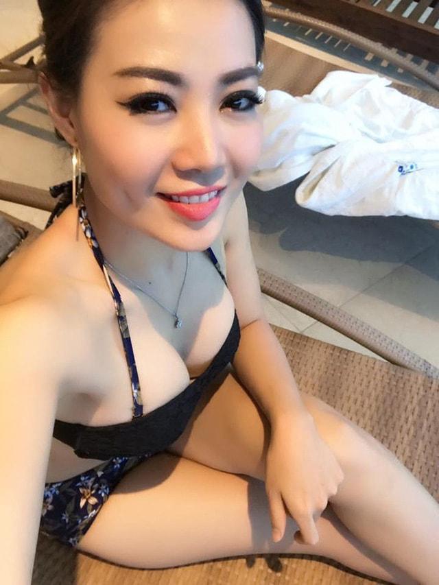Vẻ bốc lửa Thanh Hương 'Người phán xử' khi mặc bikini khoe ngực đầy - Ảnh 8