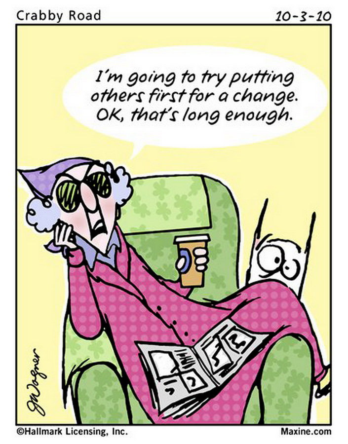 maxine cartoons quotes funny aging crabby october fun chuck thought cartoon jokes humor grandma comic others sayings putting funnies amusing