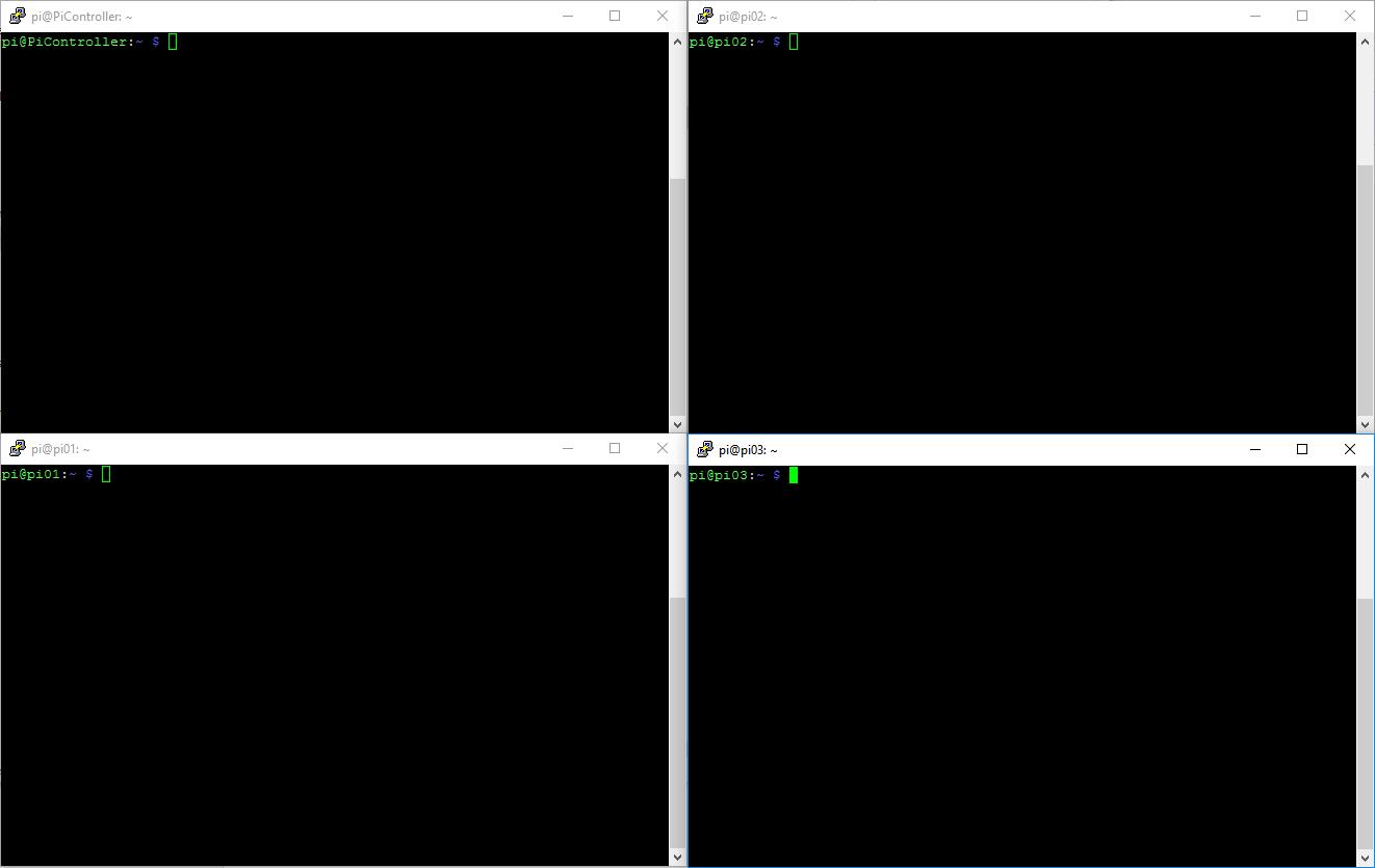 Creating a Raspberry Pi 3 Cluster -