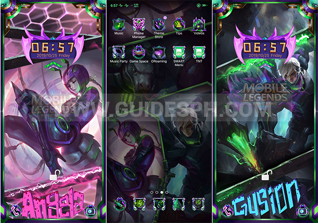 Oppo Theme: Mobile Legends Theme