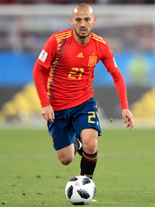 432c3777811 The Danish attacking midfielder Michael Laudrup is the hero of David Silva. David  Silva has never been noticed to be with a football player.