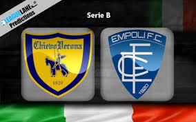 Chievo vs Empoli prediction