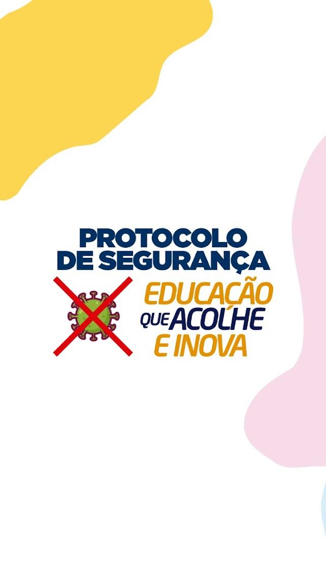 Escolas municipais retomam aula presencial a partir de 02 de agosto