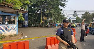Ini Kronologi Lengkap Penyerangan Pos Polantas Tangerang Yang dilakukan Terduga Isis - Commando