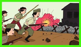rangkuman materi tema 2 kelas 6 pertempuran ambarawa