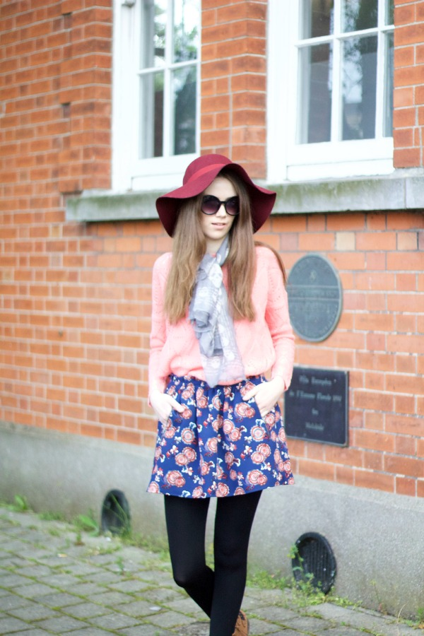 Spring pink ootd