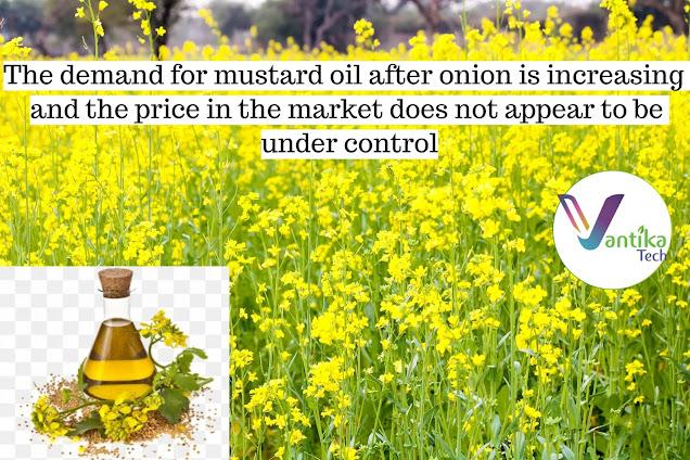 mustard crop prices/mustard oil 2020