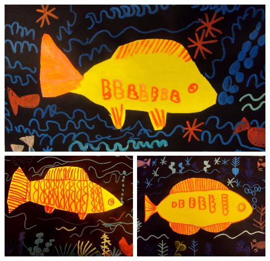 Peix daurat de paul Klee