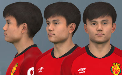 PES 2017 Faces Takefusa Kubo by WER Facemaker