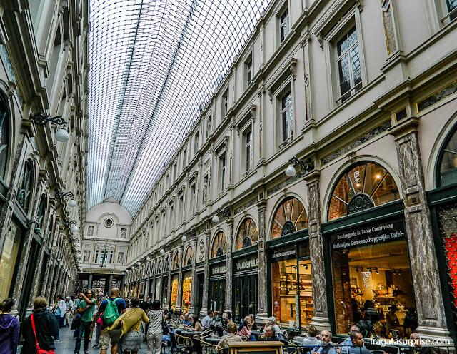 Bruxelas - Galerias de Saint-Hubert