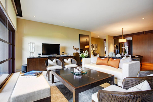 The Club Residences 3 Bedroom Suites - Living Hall