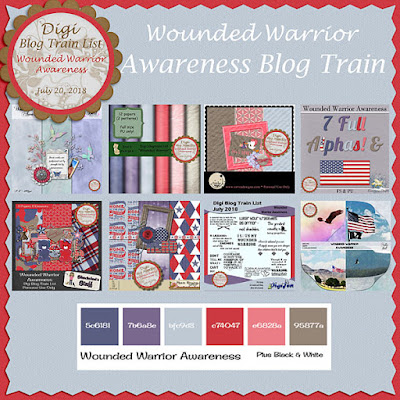 Digi Blog Train List Wounded Warrior Awareness Freebie