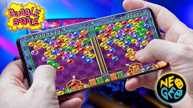 Puzzle Bobble Para Teléfonos Android (ROM NEOGEO)