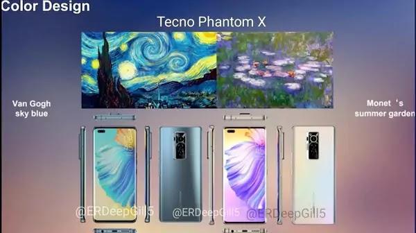 Tecno Phantom X تصميم