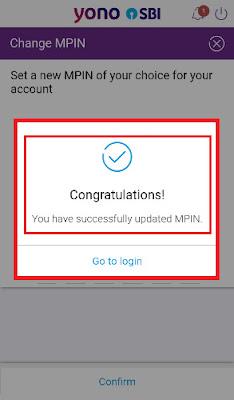 sbi yono mobile app update mpin