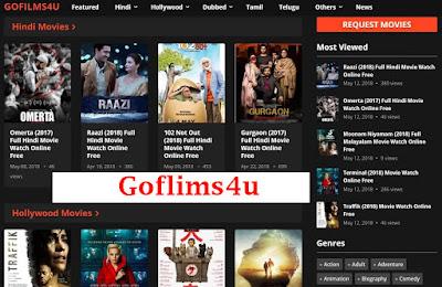 Goflims4u- Latest 2020 Bollywood Hollywood Movies Goflims4u