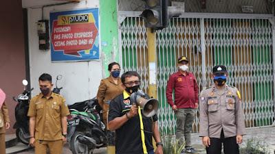 Dampak PPKM Darurat di Medan, Masyarakat Tebingtinggi Dihimbau Jangan Bepergian