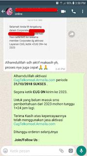 Testimoni CUG Telkomsel Kartu Pasangan Kartu Komunitas Kartu Soulmate Kartu Couple 31 Oktober 2018 6