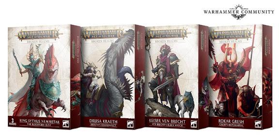 cajas expansión Broken Realms Morathi