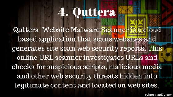 Cyber Security: Online Website Vulnerability Scanner For Web