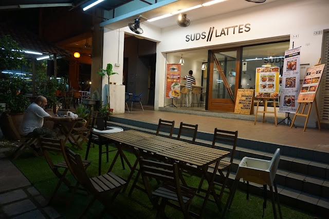 SUDS AND LATTES, KAFE, FOODIE
