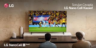 LG Nano Cell Televizyon Çekilişi