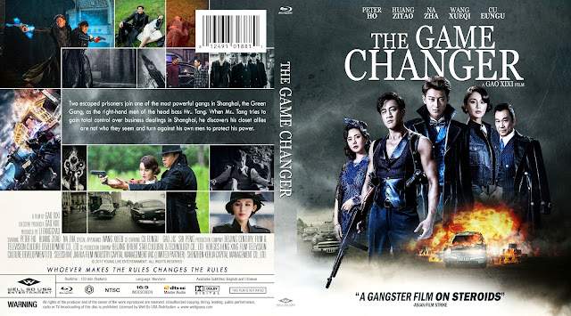 The Game Changer Bluray Cover