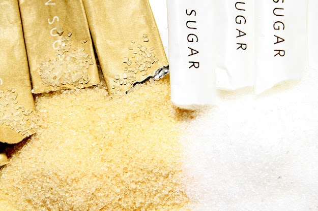 Brown sugar and white sugar difference