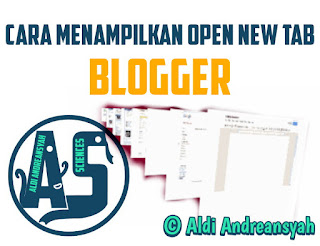 Open new tab blog