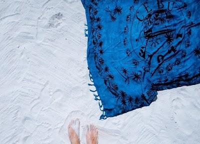 Qué toalla de playa elegir rectangular o circular
