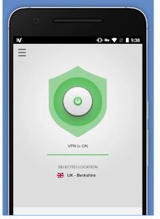terhubung ke apliksi ExpressVpn android