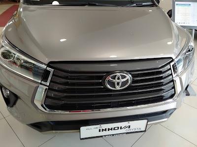 Toyota Innova Crysta 2020