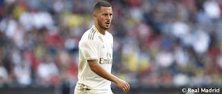 Hazard, nueva baja para el Real Madrid
