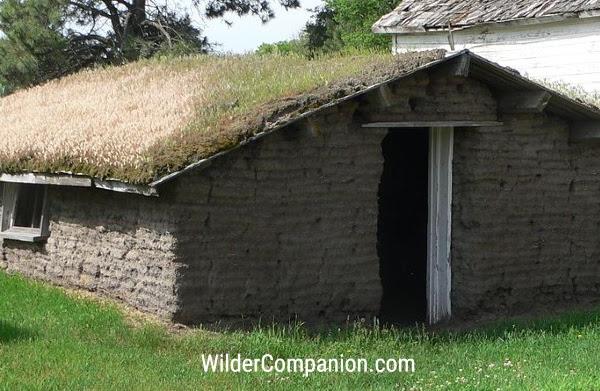 Sod Houses on the Prairie