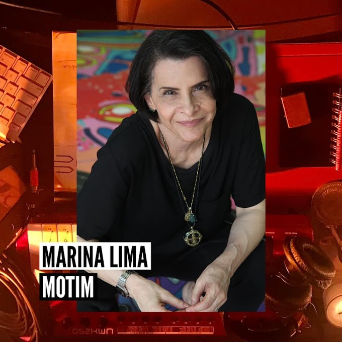 Marina Lima apresenta a capa do EP 'Motim'