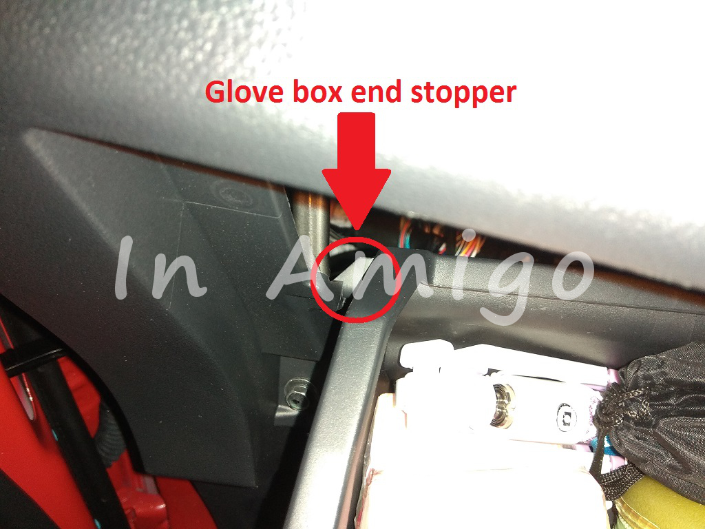 Hiding Dashcam Cable Guide Perodua Axia External Fuse Box After That The Will Reveal Itself Just Behind Glove Together With Aircond Blower Next To It