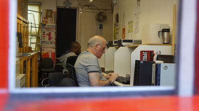 Internet cafe en Londres