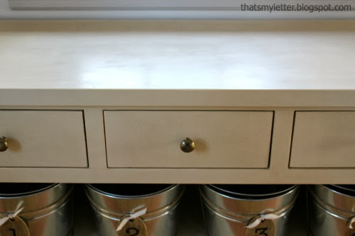 diy entry console counterspace