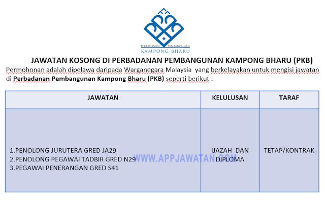 Perbadanan Pembangunan Kampong Bharu (PKB)