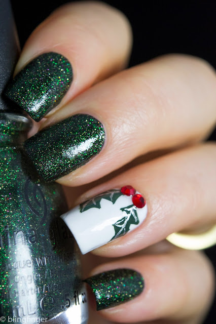 Retro kimmers blog kimmers favorite holiday nail art for 2017 you might also like prinsesfo Gallery