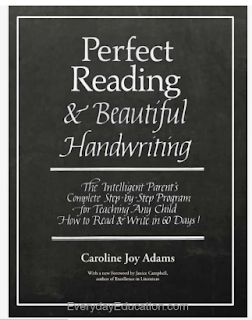 cover of Perfect Reading & Beautiful Handwriting