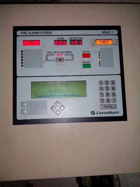 Fire Alarm Main Control Panel