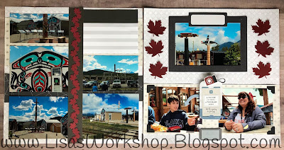Lisa's Workshop - Spring Blog Hop  Canada and Alaska Cruise Photos