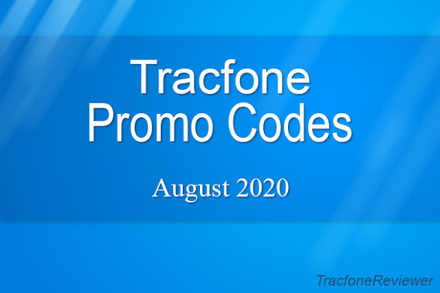 Tracfone Promo Codes august 2020